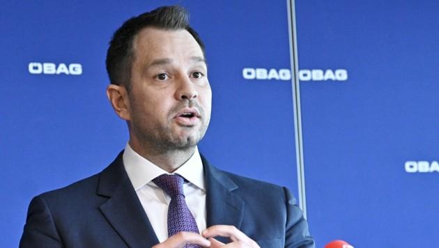 Thomas Schmid, vormaliger Alleinvorstand der staatlichen Beteiligungsholding ÖBAG (Bild: APA/Hans Punz)