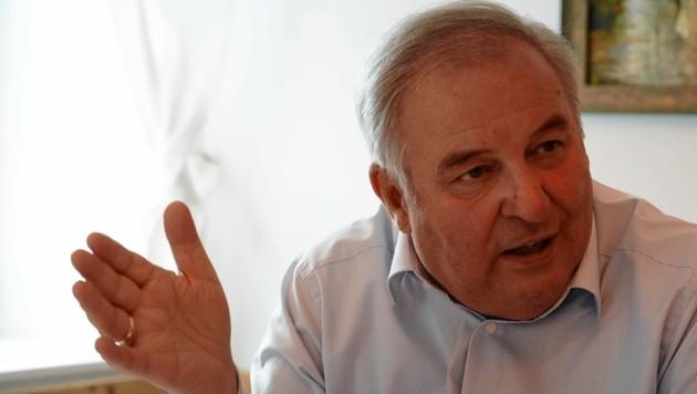Der steirische Landeshauptmann Hermann Schützenhöfer