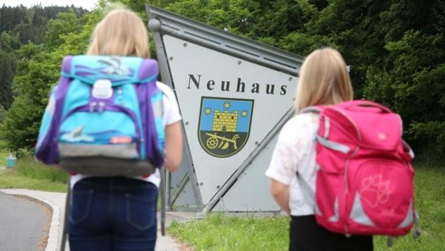 Von Neuhaus nach Lavamünd wäre der Weg deutlich kürzer. (Bild: Hronek Eveline)