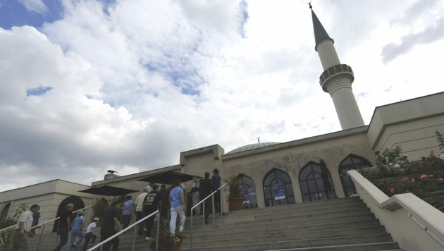 Die Moschee in Wien-Floridsdorf (Bild: APA/HANS KLAUS TECHT)