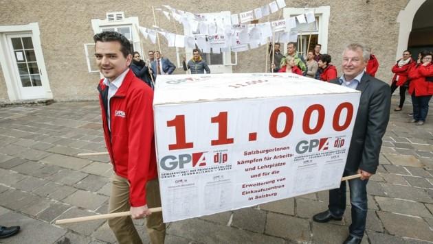 Gerald Forcher zeichnete sich als bissiger Gewerkschaftschef aus (Bild: MARKUS TSCHEPP)