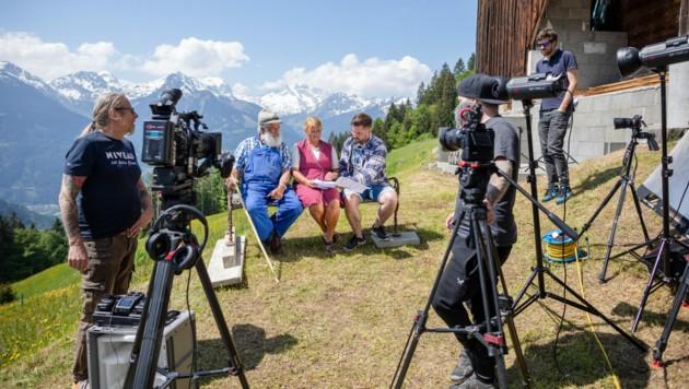 Das Erfolgsvideo von Montafon Tourismus wurde am Innerberg gedreht. (Bild: Stefan Michael Kothner/www.stefankothner.at)