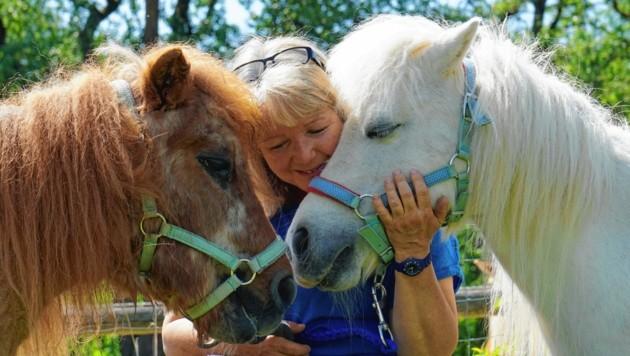 """Felicitas Grübl: """"Habe Angst, meine Pferde zu verlieren."""" (Bild: Felicitas Grübl)"""