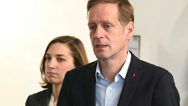 SPÖ-Fraktionsführer Jan Krainer (Bild: APA/Helmut Fohringer)