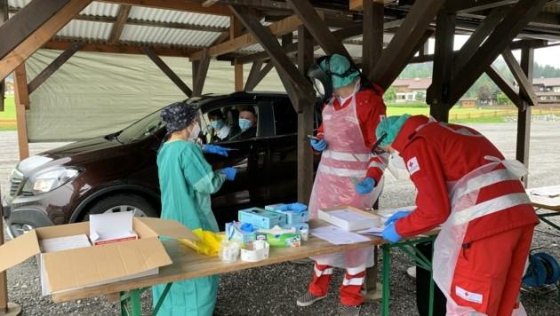 Das Rote Kreuz ist federführend (Bild: TVB Wilder Kaiser)