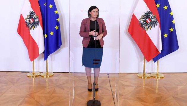 Tourismusministerin Elisabeth Köstinger (ÖVP) (Bild: APA/ROLAND SCHLAGER)