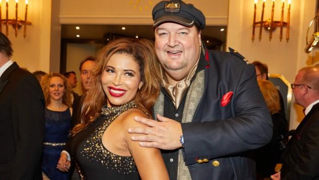 Patricia Blanco mit ihrem Gefährten Andreas Ellermann (Bild: Georg Wendt / dpa / picturedesk.com)