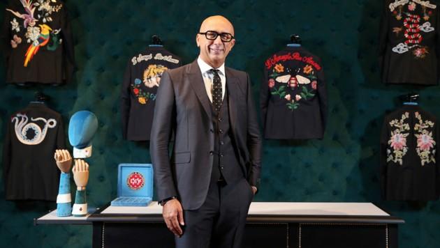 Marco Bizzarri, der CEO von Gucci (Bild: Miho Takahashi / AP / picturedesk.com)