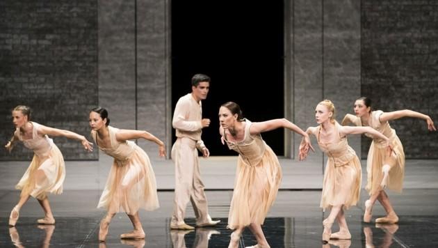 """Die Grazer Ballett-Truppe mit """"(Dis)Tanz"""" (Bild: Werner Kmetitsch)"""