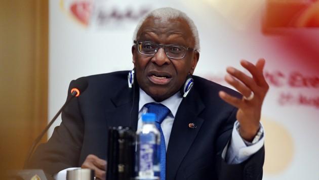 Lamine Diack (Bild: AFP)