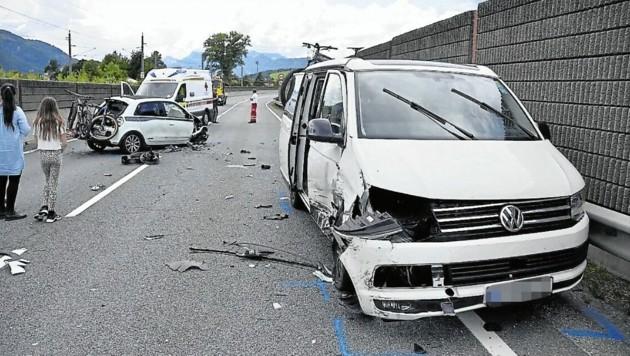 Vermutlich verfiel der 60-jährige Unfallverursacher in einen Sekundenschlaf. (Bild: ZOOM.Tirol)