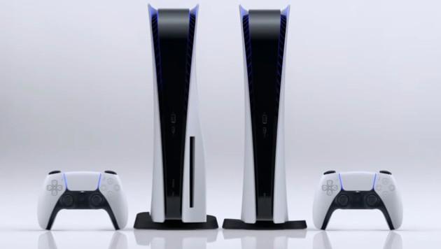 Die PlayStation 5 kommt in zwei Versionen auf den Markt - einer mit und einer ohne optisches Laufwerk.