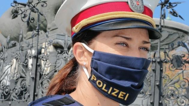 Zusammengekniffene Augen sollen schon bald der Vergangenheit angehören: Die Polizei soll schon im Frühjahr Dienst-Sonnenbrillen erhalten. (Bild: Uta Rojsek-Wiedergut)