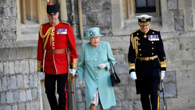 (Bild: APA/AFP/POOL/Toby Melville)
