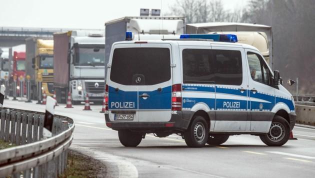 Die Autobahn A3 in Bayern (Bild: APA/dpa/Armin Weigel)