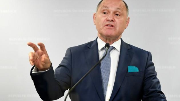 U-Ausschuss-Vorsitzender Wolfgang Sobotka (ÖVP) (Bild: APA/Roland Schlager)