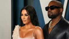 Kim Kardashian und Kanye West (Bild: AFP)