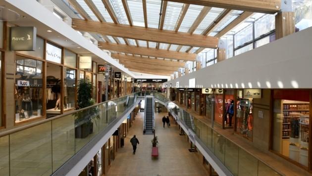 Einer von den 70 Shops fiel der Corona-Krise zum Opfer. (Bild: Andreas Fischer)