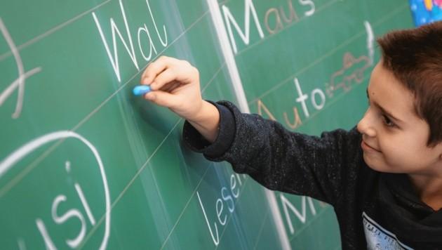 Nach einem Jahr Deutschunterricht haben sich etwa 80 Prozent der Kinder deutlich verbessert. (Bild: Österreichisches Rotes Kreuz)