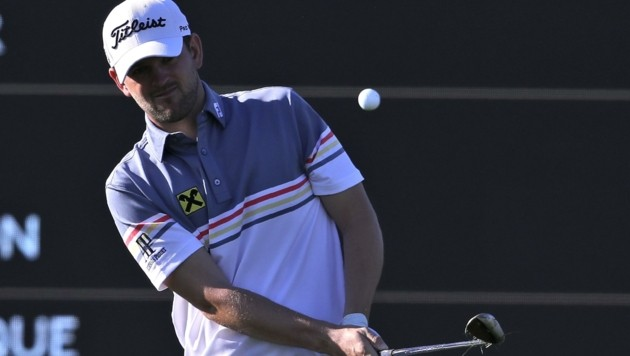 Golf-Ass Bernd Wiesberger schlägt in Zell am See ab. (Bild: Kamran Jebreili)