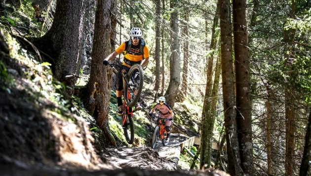 Die Mountainbike-WM gastiert Anfang Oktober in Leogang. (Bild: Klemens Koenig)