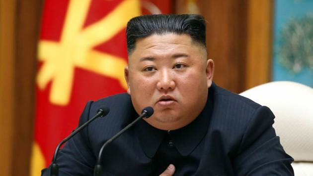Nordkoreas Staatschef Kim Jong-un (Bild: AFP)