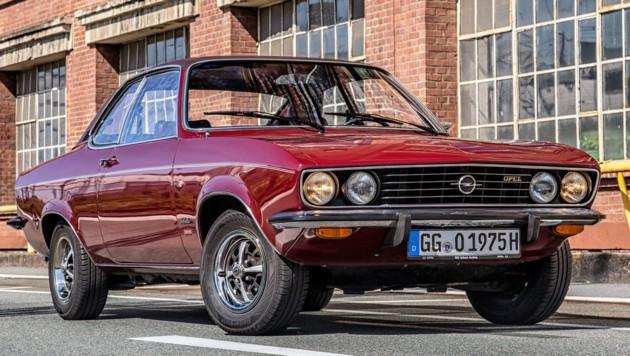 Opel Manta A (1970-1975) (Bild: Opel)
