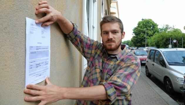 """Mitja M. hat eine Anzeige am Hals. Während einer Kontrolle soll er einen """"Darmwind"""" gelassen haben. Er legt Einspruch ein. (Bild: Jöchl Martin)"""