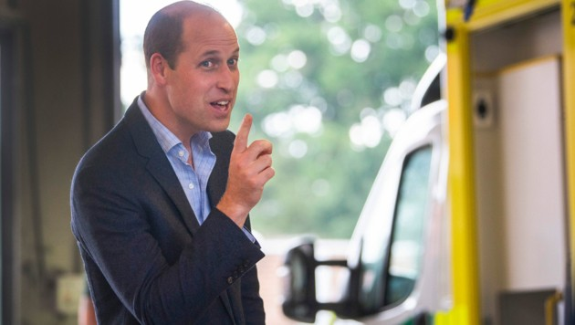 Prinz William (Bild: AFP)