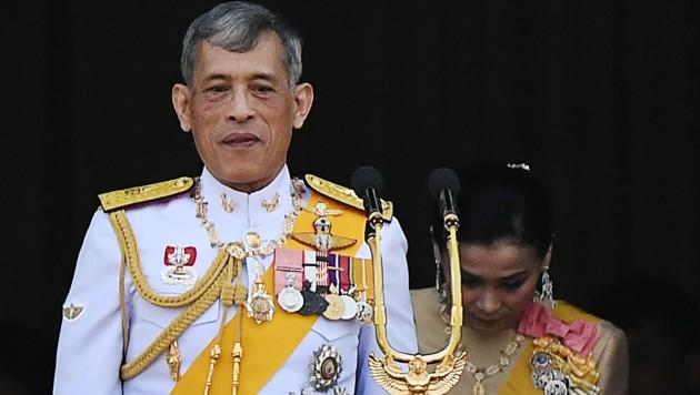 Thailands König Rama X. (Bild: APA/AFP/Jewel SAMAD)