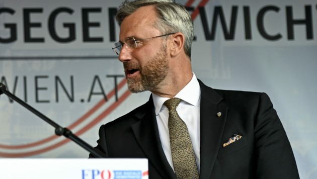 FPÖ-Chef Norbert Hofer (Bild: APA/HERBERT NEUBAUER)