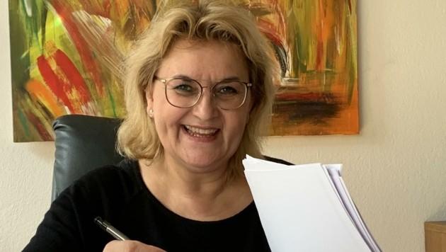 Anwältin Manuela Kollnberger (Bild: Salzmann Sabine)