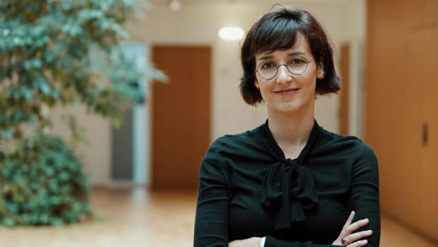 Quantenphysikerin Gemma De las Cuevas (Bild: FWF/Dominik Pfeifer)