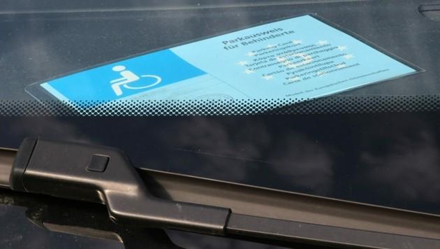 Alle Anträge der betagten Wienerin für einen Behindertenparkausweis wurden bisher abgelehnt. (Bild: ©Björn Wylezich - stock.adobe.com)