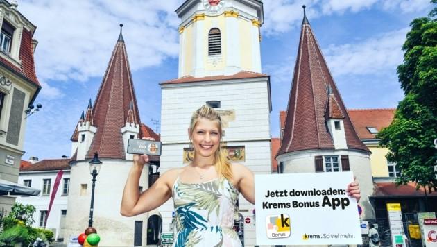 Auf digitalem Wege wird ab jetzt zum Einkauf in die historische Kremser Landstraße gelockt (Bild: Gregor Semrad)