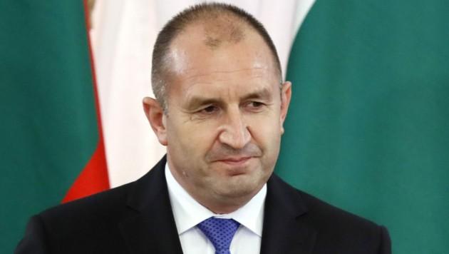 Bulgariens Präsident Rumen Radew