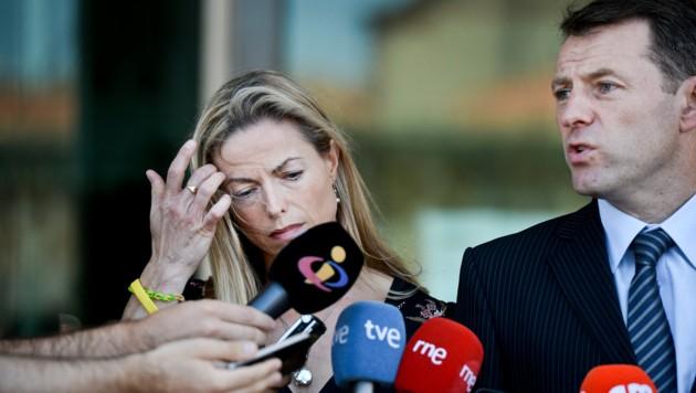 Kate und Gerry McCann versuchten jahrelang, mit einer medienwirksamen Kampagne das Verschwinden ihrer Tochter Maddie aufzuklären. (Bild: PATRICIA DE MELO MOREIRA)