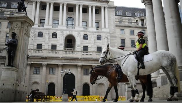 Die Bank of England und viele weitere Institutionen in Großbritannien entschuldigen sich derzeit für ihre historischen Verwicklungen in die Sklaverei. (Bild: AFP)
