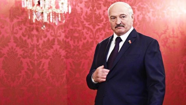 Der weißrussische Machthaber Aleksander Lukaschenko