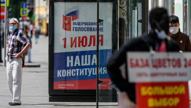 Die EU verlängerte die wirtschaftlichen Sanktionen gegen Russland um weitere sechs Monate. (Bild: AFP)