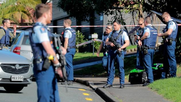 Neuseeland steht wegen der Erschießung eines unbewaffneten Polizisten unter Schock. (Bild: AP)