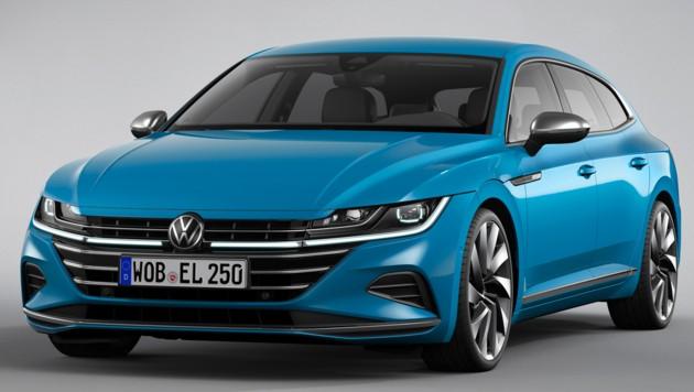 VW Arteon Shooting Brake Elegance (Bild: Volkswagen)