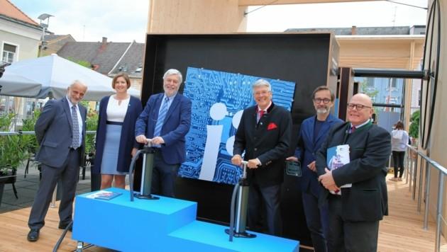 Die Eröffnungsfeier der Landesausstellung CarinthiJA 2020 in Völkermarkt. (Bild: Evelyn HronekKamerawerk)