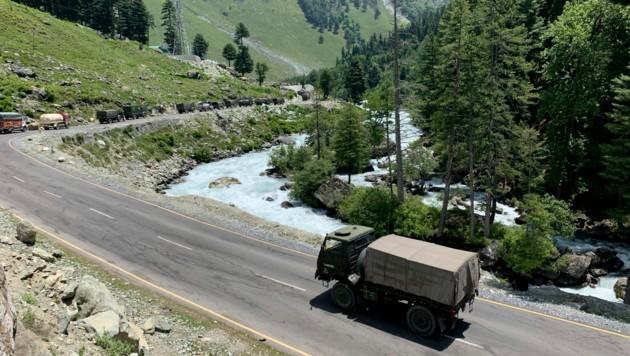 Die Region Kaschmir ist zwischen Indien, Pakistan und der Volksrepublik China höchst umstritten.
