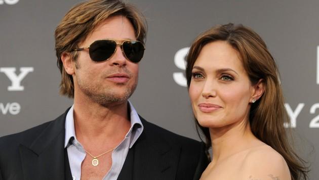 Angelina Jolie und Brad Pitt (Bild: APA/Kevin Winter/Getty Images/AFP)