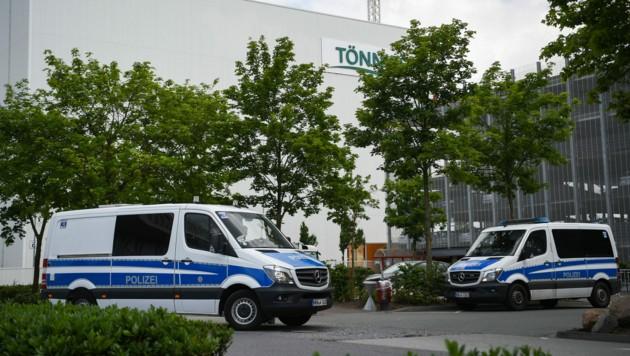 Die Produktion im Schlachtbetrieb Tönnies steht still. (Bild: AFP)