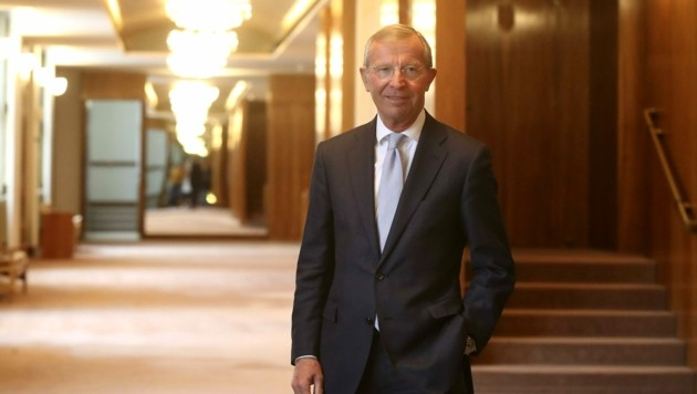 Landeshauptmann Wilfried Haslauer ist am Donnerstag gegen 18 Uhr über das positive Testergebnis informiert worden (Bild: Tröster Andreas)