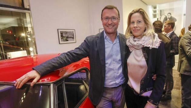 Der Automobil-Riese besiegelte Ende 2019 das Ende des Altstadt-Standortes. Alexander und Julia Pappas waren oft zu Gast, wie bei der Eröffnung des Pop-Up-Stores der Leica Galerie 2017. (Bild: MARKUS TSCHEPP)