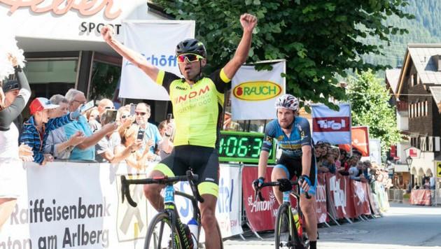 Der Bregenzer Mathias Nothegger, der bereits zwei Triumphe beim Ötztaler Radmarathon einfahren konnte und auch schon beim Arlberg-Giro gewann, will auch am Pfänder jubeln. (Bild: PATRICK SAELY PHOTOGRAPHY)