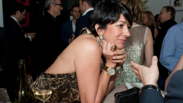 Ghislaine Maxwell 2011 in Miami (Bild: Dafydd Jones)